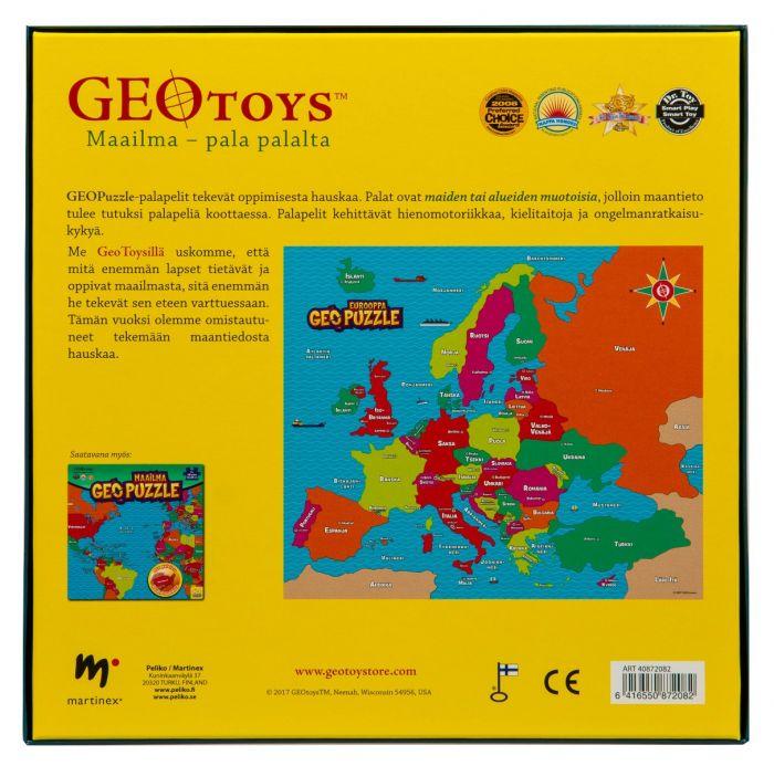 Geo Puzzle Eurooppa Heurekashop