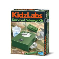 Survival Science Kit KidzLabs 4M