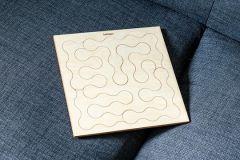 Behäppi wooden puzzle Hoop Kids easy