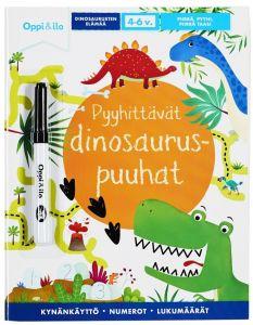 Pyyhittävät Dinosauruspuuhat Oppi & Ilo