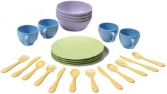 Green Toys - Dish Set 100% Recycled Plastic 2+