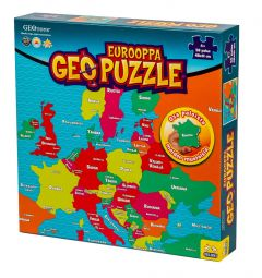 Geo Puzzle Eurooppa