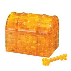 Crystal Puzzle kultainen aarrearkku