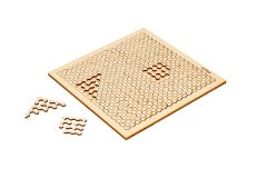 Behäppi wooden puzzle Hoop hard