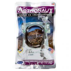 Astronauttijäätelö Vanilla Ice Cream Sandwich