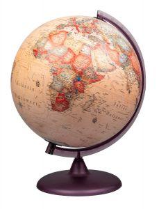 Karttapallo 30 cm antiikki