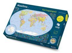 Maailma karttapalapeli 1500 palaa