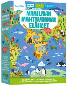 Maailman mahtavimmat eläimet-palapeli