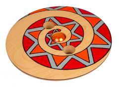 Mader illuusiohyrrä punainen