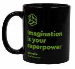 Heureka muki - Imagination is your superpower