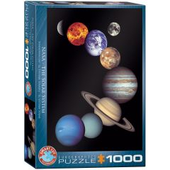 Nasa -The Solar System, puzzle 1000 palaa