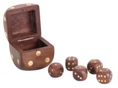 Throw The Dice Brass, Authentic Models