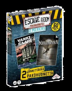 Escape Room pakohuonepeli kahdelle pelaajalle