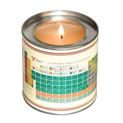Periodic Table Scented Candle Vanilla-Musk - tuoksukynttilä