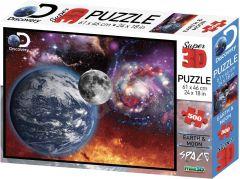 3D Puzzle Earth & Moon, 500 pcs