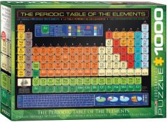 The Periodic Table of the Elements, puzzle 1000 palaa