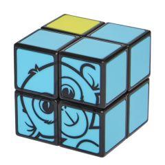 Lasten Rubikin kuution kaltainen kaksi kertaa kaksi pulmakuutio. Pulman yhdellä sivulla on apinan kasvot ja toinen sivu on keltaisen värinen. Loput neljä sivua ovat sinisiä.