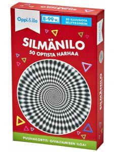 Silmänilo 50 optista harhaa Oppi & Ilo