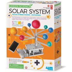 Koottava aurinkokunta aurinkokennolla
