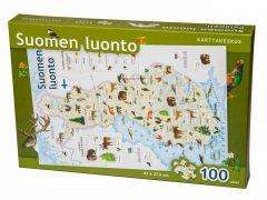 Suomen luonto palapeli 100 palaa