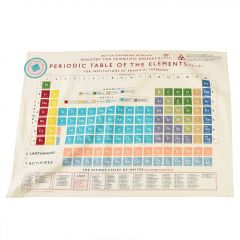 Cotton Tea Towel, Periodic Table of The Elements, 100% Cotton 50x70cm