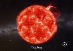 3D-kortti The Sun