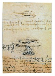 Muistikirja da Vinci - helikopteri