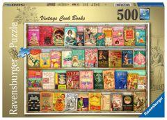 Vintage Cook Books - Ravensburger palapeli 500 palaa