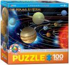 The Solar System -palapeli 100 palaa