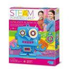 STEAM Powered Girls Intruder Alarm Robot