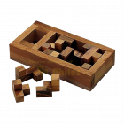 Philos The Tomb of the Pentacube, wooden IQ Puzzle