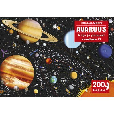 Avaruus - koululaisen kirja ja palapeli