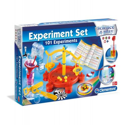 Science & Play Experiment Set 101 Experiments 8+ Clementoni