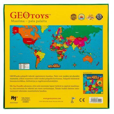 Geo Puzzle Maailma