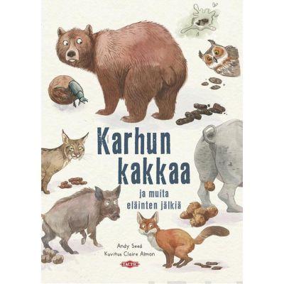 Karhun kakkaa ja muita eläinten jälkiä,Tactic-kirjat