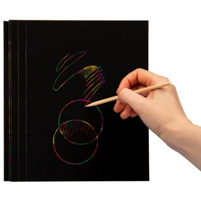 Magic Mandala Scratch Art Set