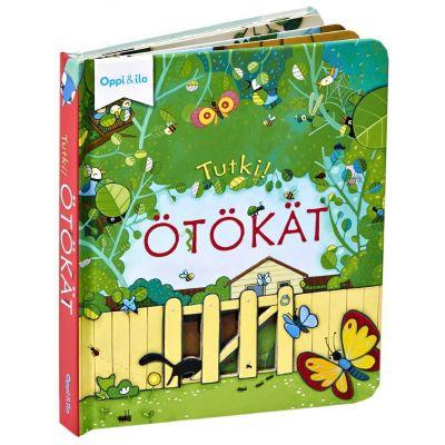 Tutki! Ötökät -kuvakirja Oppi & Ilo