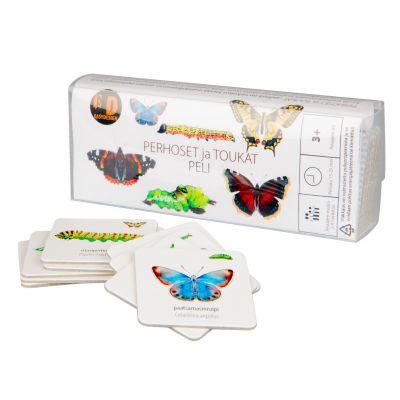 Perhoset ja toukat peli