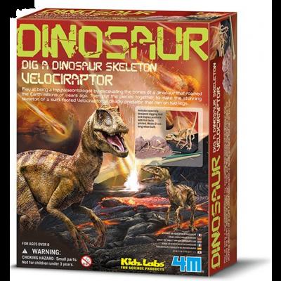 Dig a Dino Velociraptor